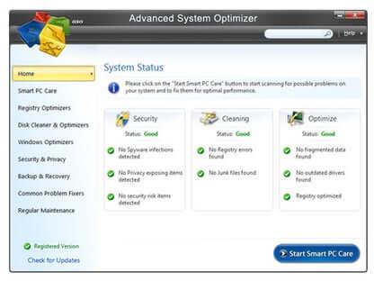 Advanced System Optimizer Crack 3.9.3800.18406 + Key Latest 2021