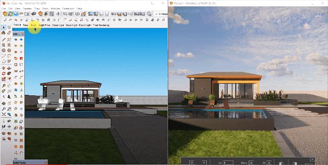 Enscape 3D 3.0.2 Crack Sketchup + Keygen (2d&3d) Free Download